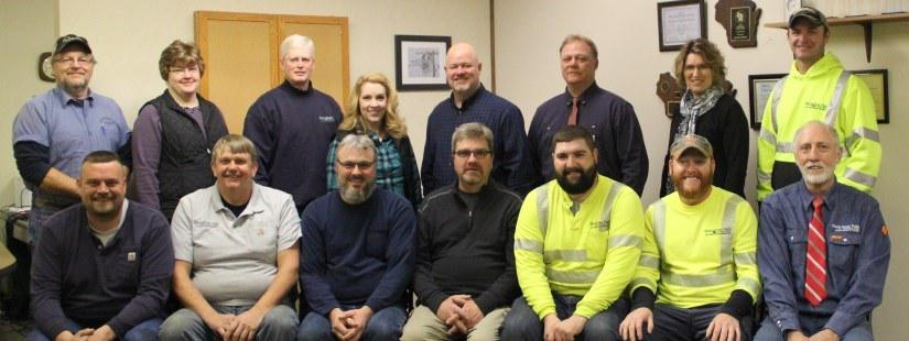 Utility Employees in a group photo